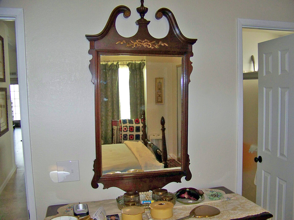 Antique Mirror Repair 08