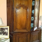 Palm Desert furniture restoration of Antique Buffet