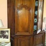 Palm Desert furniture restoration of Antique Buffet