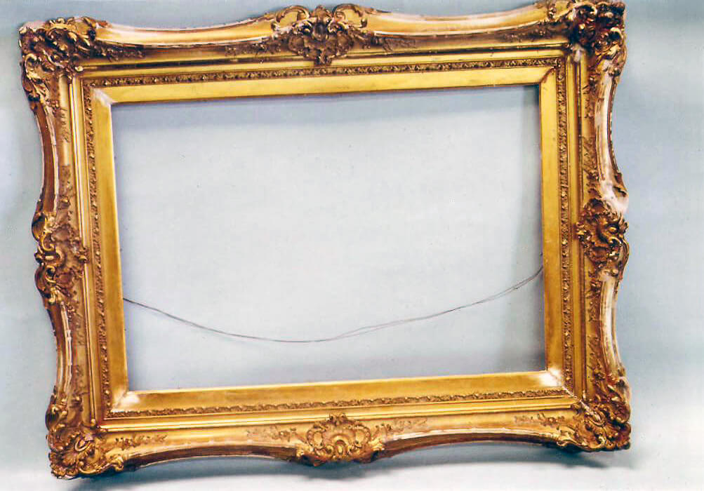 Carved Mirror Frame Restoration