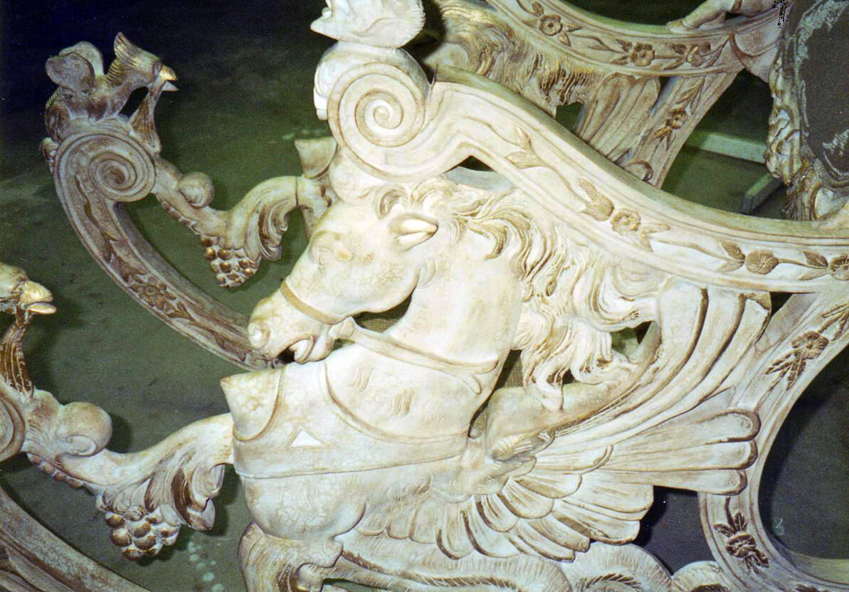 Carved Rocking Chair Repair