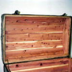 Cedar Lining in trunk lid