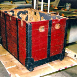 Trunk before restoration