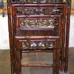 Chinese Rosewood Nest Tables