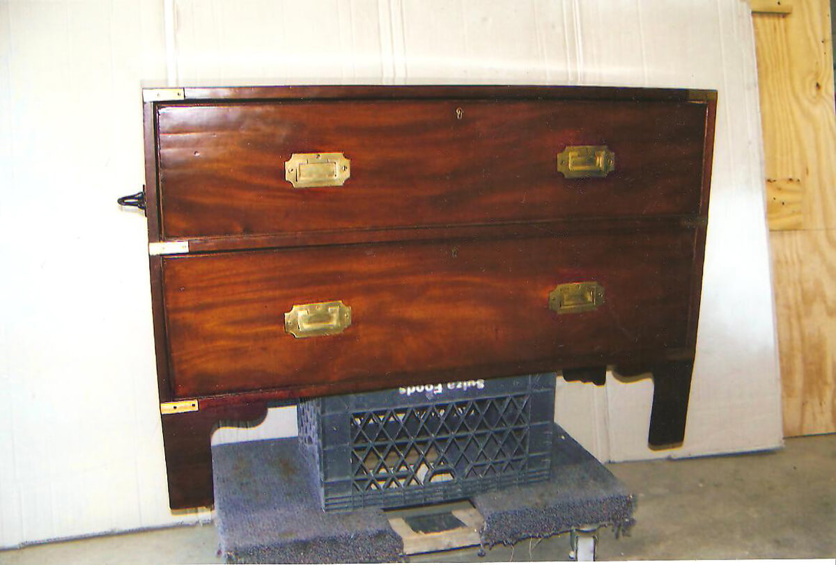 Civil War Chest Restoration