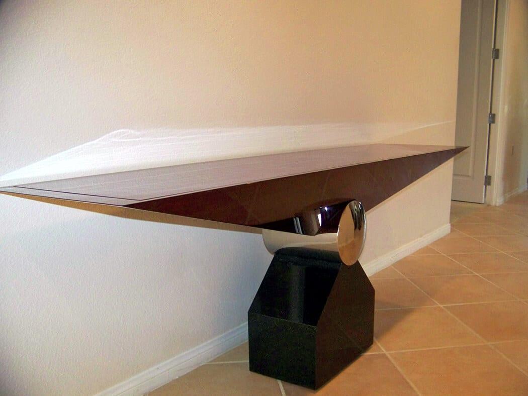 Modern Mahogany Table Repair