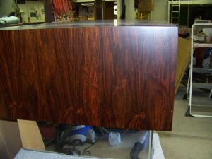 George Nelson Rosewood Desk Repair