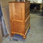Wouks HiBoy Maple Dresser